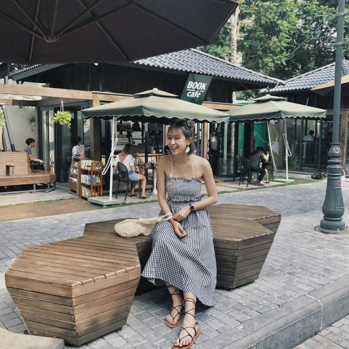 """váy maxi cúp ngực Tổng hợp 10+ ý tưởng phối đồ với váy maxi """"thiên biến vạn hoá"""""""